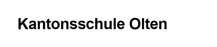 Kantonsschule Olten
